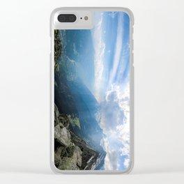 Meran // Mutspitze Clear iPhone Case