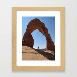 Framed - Delicate Arch Framed Art Print