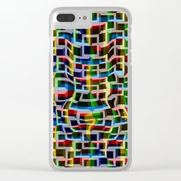 Shapely, 2400z2 Clear iPhone Case