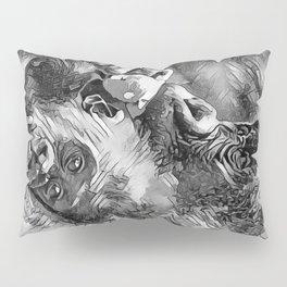 AnimalArtBW_Gorilla_20170601_by_JAMColorSpecial Pillow Sham