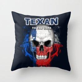 To The Core Collection: Texas Throw Pillow