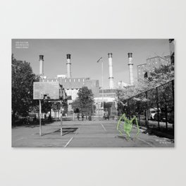 Unseen Monsters of New York - Funambulist Bespangle Canvas Print