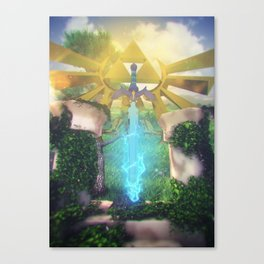 Rise of The Master Canvas Print