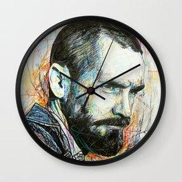 Charles Manson Wall Clock