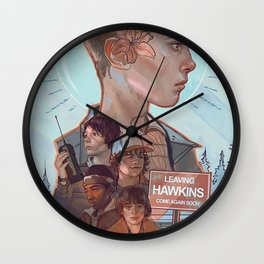 Stranger Kids Wall Clock