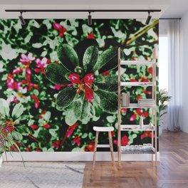 Floral Art AZALEA Wall Mural