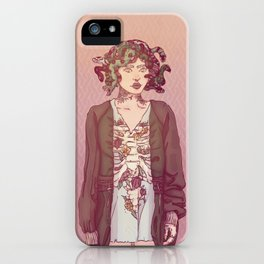 Gorgo Lady iPhone Case