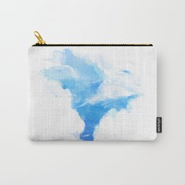Summerscape - summer clouds and blue sky Carry-All Pouch
