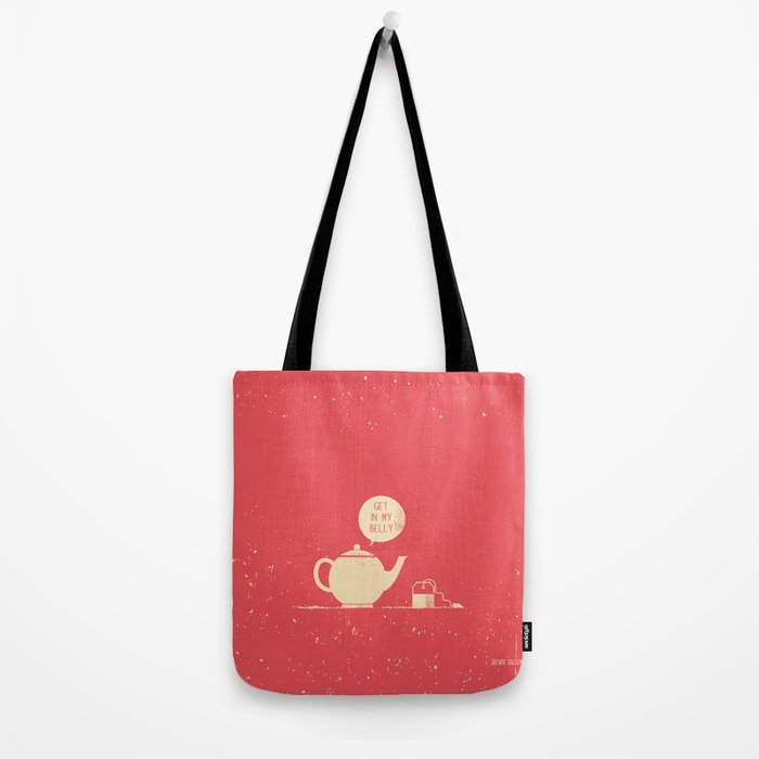 Tea bag & Teapot Tote Bag