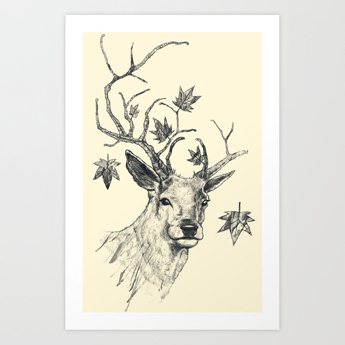 From Fall to Rise Art Print