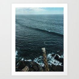 EL SALVADOR SEAS Art Print