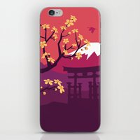japan iPhone & iPod Skins featuring Japan by Marko Stupic