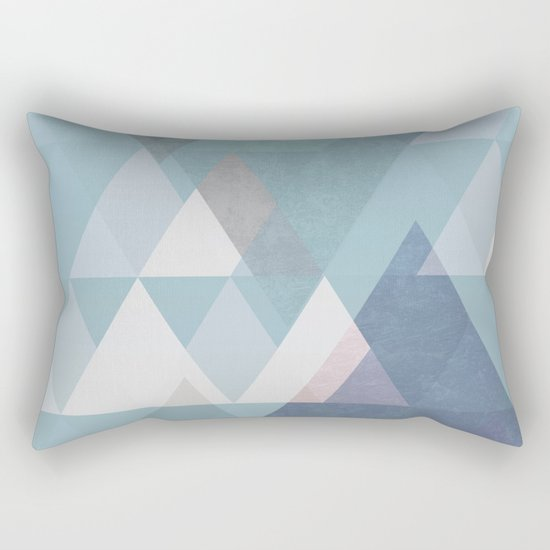 Modern Geometric II Rectangular Pillow