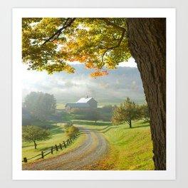 COUNTRY ROAD1 Art Print