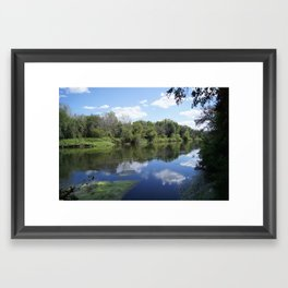 Sunny days at The Spot Framed Art Print