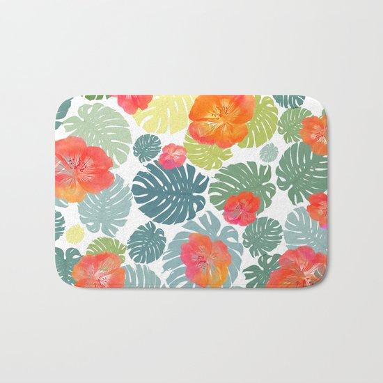 Tropical abstract(8) Bath Mat