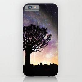 African galaxy skyline - Landscape Photography #Society6 iPhone Case