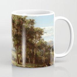 Louis Buvelot - At Lilydale (1870) Coffee Mug