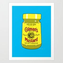 Proper Mustard Art Print