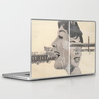 women Laptop & iPad Skins featuring Women by Eugenia Perez