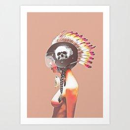 Indian Punk Art Print