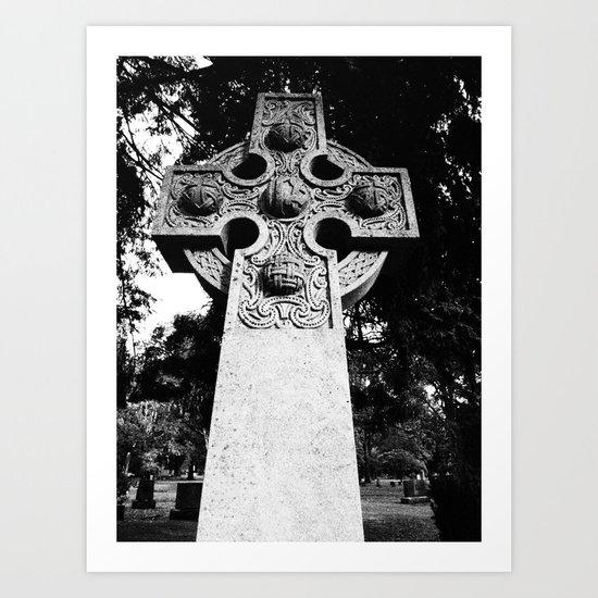 Celtic Grave Art Print