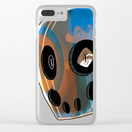 UnNamed Helmet Clear iPhone Case