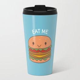 Kawaii Cute Burger Travel Mug