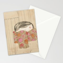"""Luisa. """"Bufandas"""" Collection Stationery Cards"""