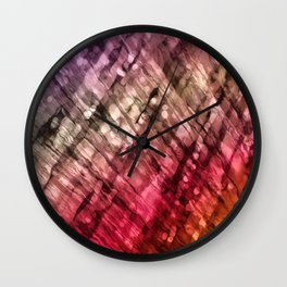 Interwoven, too Wall Clock
