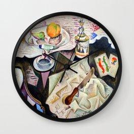 Joan Miro Spanish Playing Cards Wall Clock