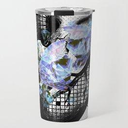 Diamond hearts can even be broken Travel Mug