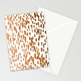 Copper Brushstrokes #society6 #decor #interiors Stationery Cards