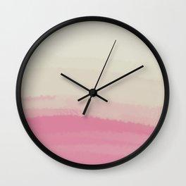 Sea - Line Clolor Pattern V16 Wall Clock