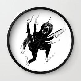 octopus smoking cigarettes Wall Clock