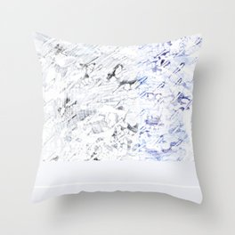 Let's Jump in Puddles Throw Pillow