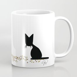 Cat Food Can't Wait (The Naughty Kitten) Coffee Mug