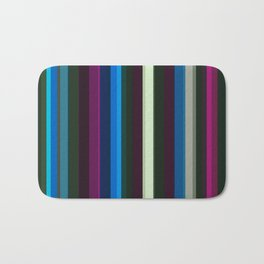 Vertical stripes Bath Mat