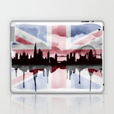 Great British Flag London Skyline 2 Laptop & iPad Skin