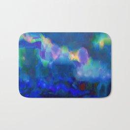 Watercolor Skies Bath Mat