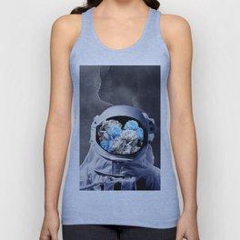 Romantic Astronaut Unisex Tank Top