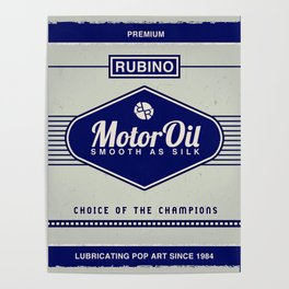 Rubino Motor Oil Poster