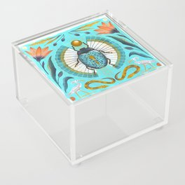 Egyptian Scarab Acrylic Box