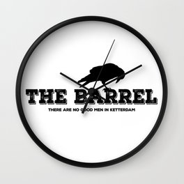The Barrel Wall Clock