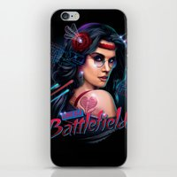 battlefield iPhone & iPod Skins featuring Love is a Battlefield by Rocky Davies
