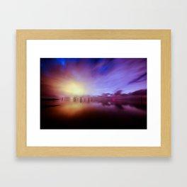 Reflecting Colors Framed Art Print