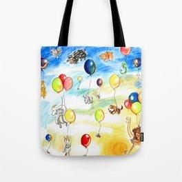 Animal Balloon Parade  Tote Bag
