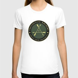 Instinctive Archery - Official Patch Tshirt - July 2017 T-shirt