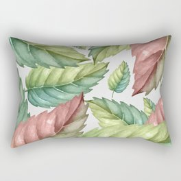 GREEN LEAVES 2 Rectangular Pillow