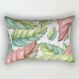 GREEN LEAVES 2 Rectangular Pillow